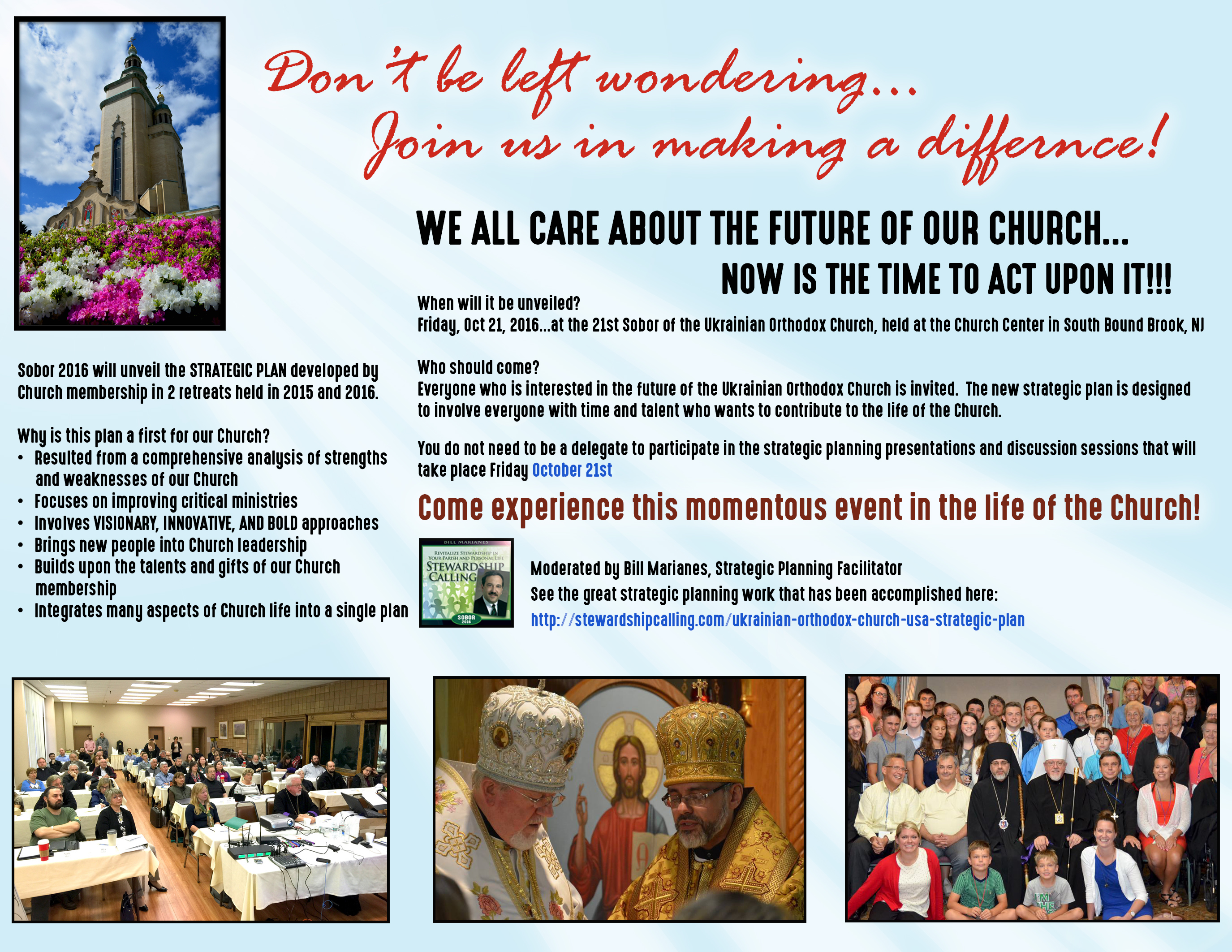 Ukrainian Orthodox Church USA Strategic Plan - Stewardship Calling